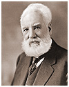 Photograph of Alexander Graham Bell