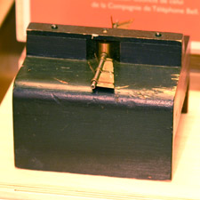 Photograph of a model of James D. Fraser's 1874 PROPELLER FOR VESSELS