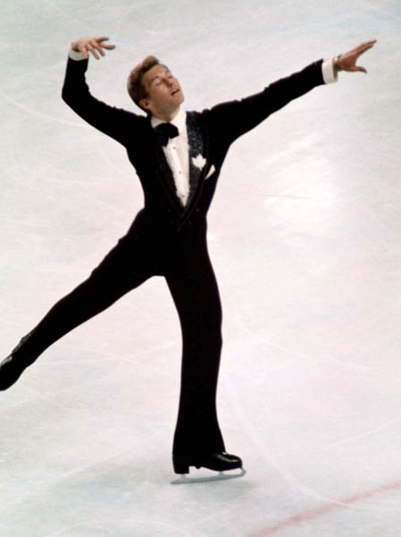 Canada's Stan Bohonek competes in the figure skating event at the 1976 Innsbruck Winter Olympics. (CP Photo/ COA)