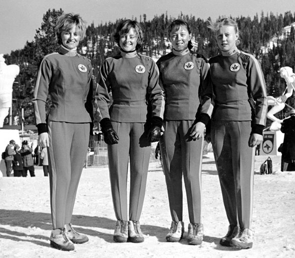 1960 USA Olympic Women