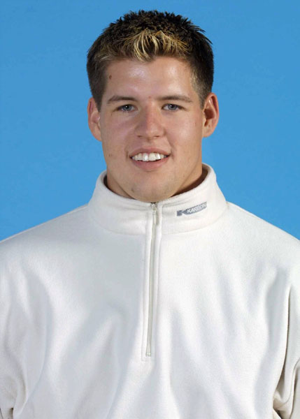Canada's Kyle Connelly, part of the luge team at the 2002 Salt Lake City Olympic winter  games. (CP Photo/COA)
