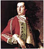 Portrait of Governor Edward Cornwallis