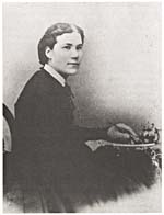 Photograph of Emma Edmonds in women's clothing