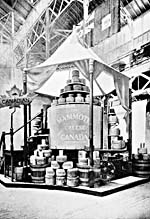 Photo du fromage géant exposé à l'Exposition universelle de Chicago de 1893