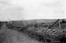 Photograph providing a  view of Springhill, Nova Scotia, from the south, 1923