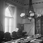 Photograph of Privy Council Chamber, East Block, 1878-1882