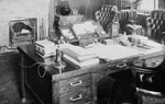 Photo du bureau de sir Wilfrid Laurier, vers 1902