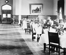 Photograph of the Main Dining Room, Centre Block, 1902