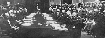 Photograph of the Colonial Conference held in the Senate Chamber, Parliament Buildings, June 28, 1894