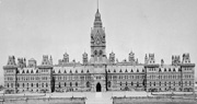 Photograph of Centre Block, ca. 1914