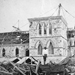 Photo de l'édifice du Centre en construction, vers 1862