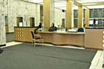 Photograph of Registration Desk