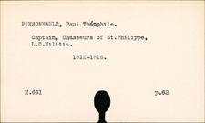 Pinsonnault, Paul Théophile
