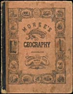 Brown cover with illustrations of scenes from around the world and modes of transportation, with The Bible at the top centre