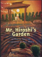 Cover of book, Mr. Hiroshi's Garden