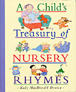 A CHILD�S TREASURY OF NURSERY RHYMES
