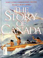 Photo of book cover: The Story of Canada