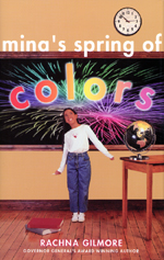 Cover of book, MINA�S SPRING OF COLORS