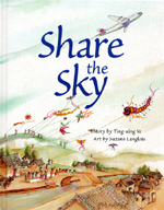 Cover of book, SHARE THE SKY