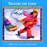 Cover of book, TREASURE FOR LUNCH