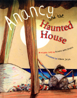 Cover of book, ANANCY AND THE HAUNTED HOUSE