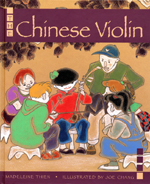 Cover of book, THE CHINESE VIOLIN