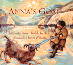 Cover of book, ANNA�S GOAT