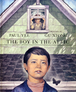 Cover of book, THE BOY IN THE ATTIC