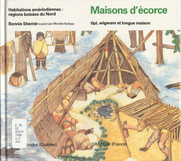 Archived native people 39 s literature french titles 1 of 2 for Maison tipi