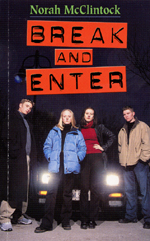 Cover of book, BREAK AND ENTER