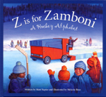 Cover of book, Z IS FOR ZAMBONI: A HOCKEY ALPHABET