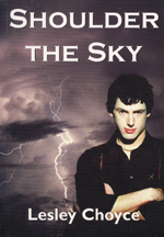 Cover of book, SHOULDER THE SKY