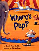 Couverture du livre, WHERE'S PUP