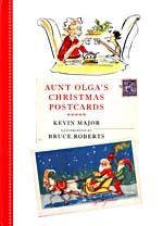 Couverture du livre Aunt Olga's Christmas Postcards