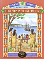 Couverture du livre Discovering First Peoples and First Contacts