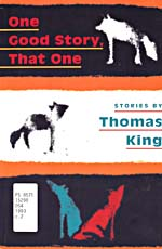 Black, white and orange book cover with various stylized dogs in different positions