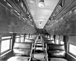 Photo of the interior of a CPR colonist car, 1925