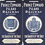 Brochure of the Prince Edward Island Railway, 1908