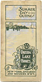 Brochure of the New York, Ontario & Western Railway, 1899, reading SUMMER DAY OUTINGS