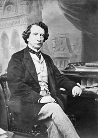 Photo de sir John A. Macdonald