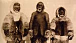 Photograph of three shaman brothers of Igloolik and Repulse Bay