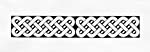 Printable design for the Celtic knot-design bookmark