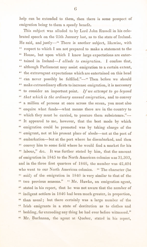 <i>Remarks for emigrants</i>, by John J. E. Linton