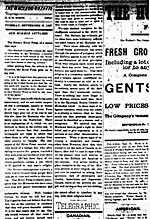 Newspaper article entitled OUR MORMON SETTLERS, published in THE MACLEOD GAZETTE, September 27, 1887