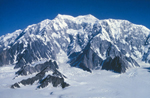 Photograph of Mount Logan, Yukon
