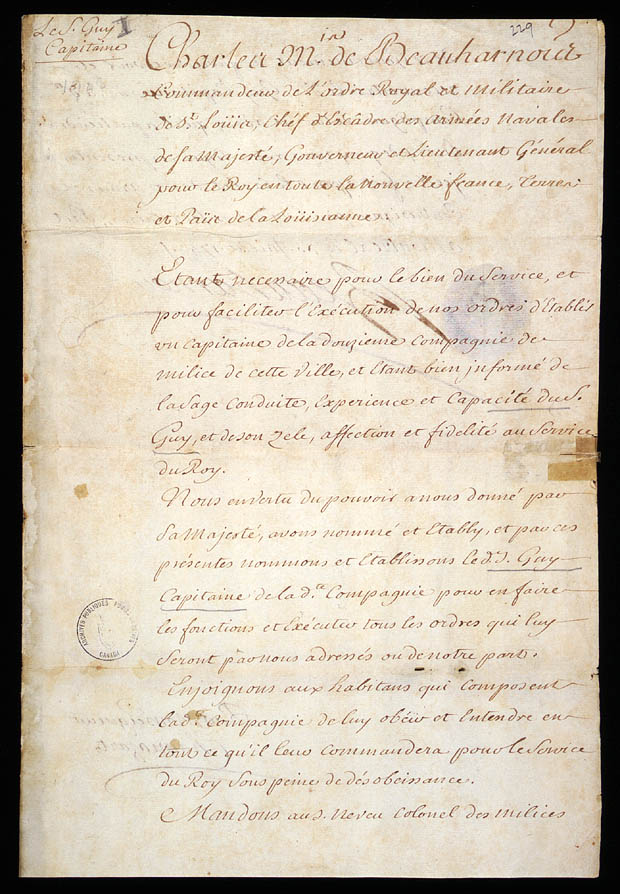 handwritten document on parchment