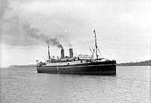 Royal Mail Ship Metagama of Canadian Pacific Steam Ship Lines. Bibliothèque et Archives Canada, C-166332