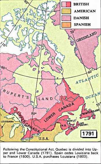 Map Of Canada Unlabelled.Maps 1667 1999 Library And Archives Canada