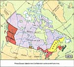 Map: Canada, 1873