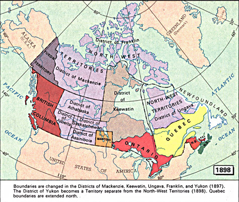 ARCHIVED Map Maps Canadian Confederation - Canada maps